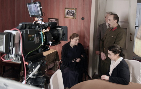 At filming the feature film Svetlana Alilueva (16)