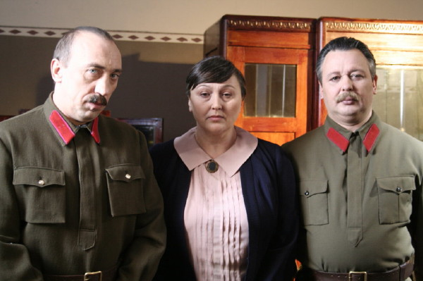 At filming the feature film Svetlana Alilueva (6)