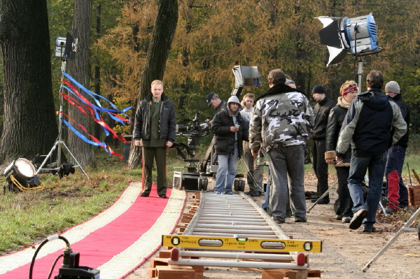 At filming the feature film to marry the general (162)